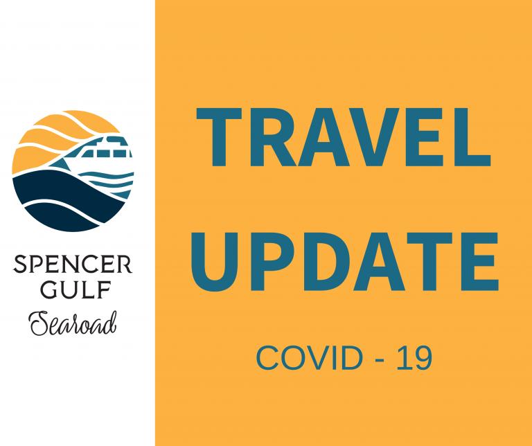 Travel Update - Covid -19